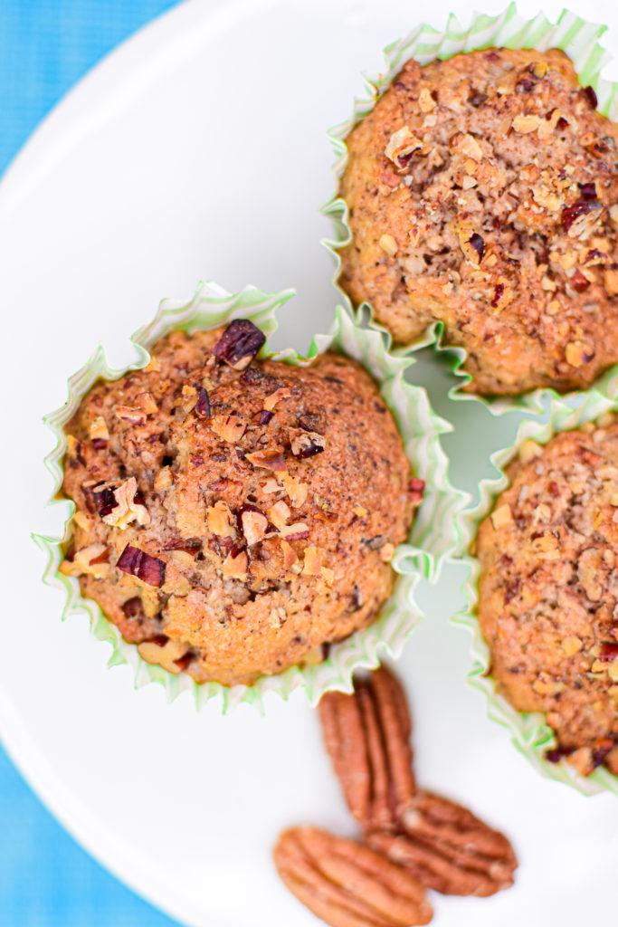 Muffins de Nuez Keto