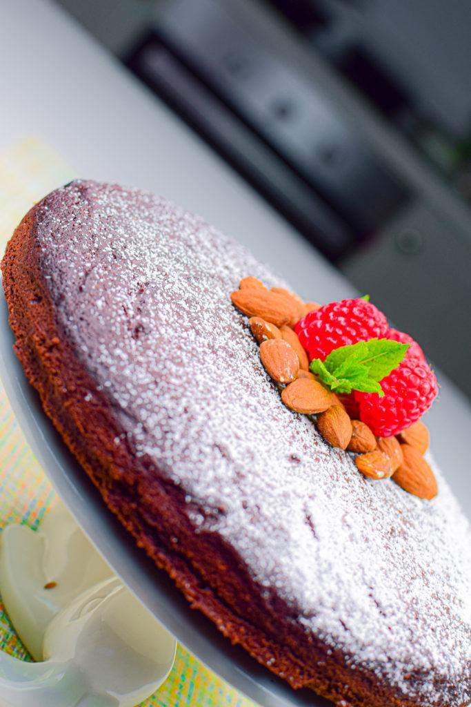 Torta Caprese Keto