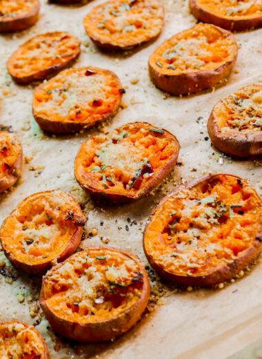 camote horneado receta low-carb